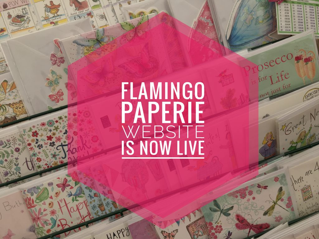 Flamingo Paperie website is now live