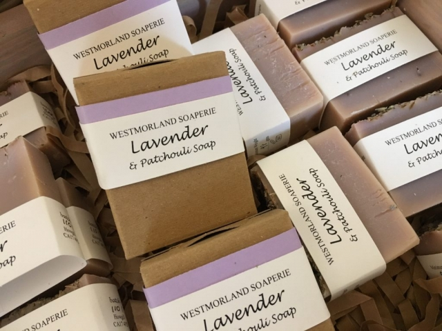 Lavender & Patchouli handmade soap
