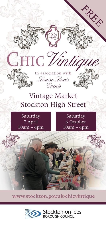 Venue & dates for Stockton Chic Vintique 2018